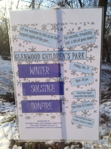 The Glenwood Children's Park shelters a Council Ring designed by Jens Jensen.