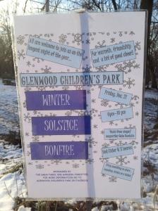 The Glenwood Children's Park shelters a Council Ring designed by Jens Jensen.