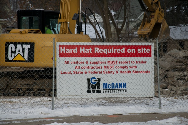 McGann Construction apparently does not include compliance with City, County, or State erosion prevention requirements in this declaration.