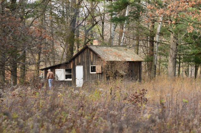 """The """"Shack"""" at the Aldo Leopold Foundation near Barabo, Wisconsin."""