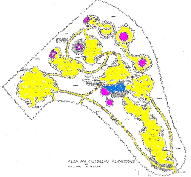 Plan of the Glenwood Childrens' Park
