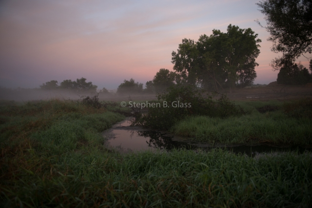 Private trout stream restoration project in Dane County, Wisconsin.